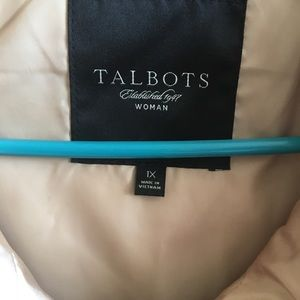 Talbots Jackets & Coats - Gold puffy vest